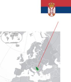 Serbia Map